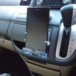 自作スマホスタンドでズルトラをステップワゴンRGのインパネに載せてカーナビ化