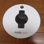 健康管理のためと興味半分であるがAndroid Wearのmoto360を購入