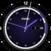 moto360時計の文字盤の一部の色がスケージュールに連動して違う色になる