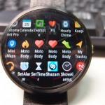 Android WearのランチャーアプリWear Mini Launcherの表示いろいろ
