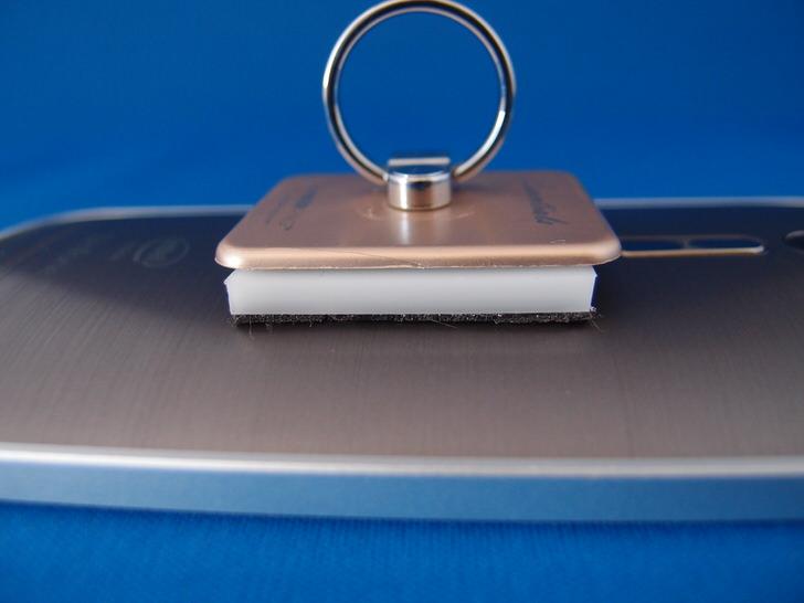 バンカーリング曲面から平面へのアダプター
