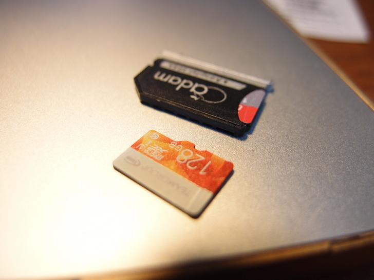 TEAMGROUPのmicroSD 128GB