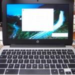 hp chromebook G4(P0B78UT#ABA)開封とファーストインプレッション