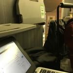 通勤電車(高崎線)のグリーン車で使うには小さくて調度良いと感じたChromebook11インチ