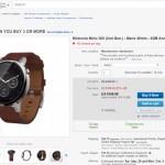Android Wearの代表の一つとも言えるmoto360 2ndがほぼ半額と安く売られているので迷いませんか