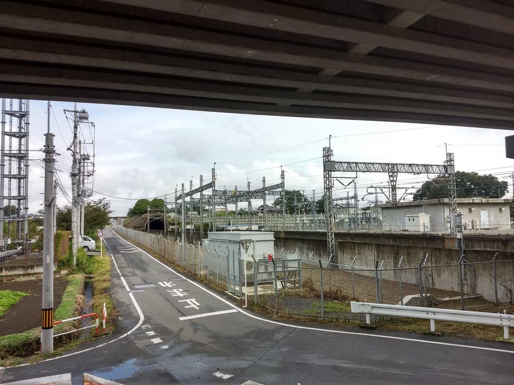 上越新幹線の榛名トンネル
