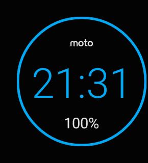 Android Wearのスクリーンショット