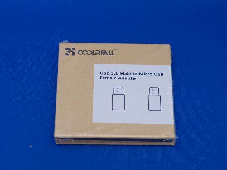 Coolreall Micro USB からType-Cへ 変換コネクタ 充電 データ通信 変換アダプタ