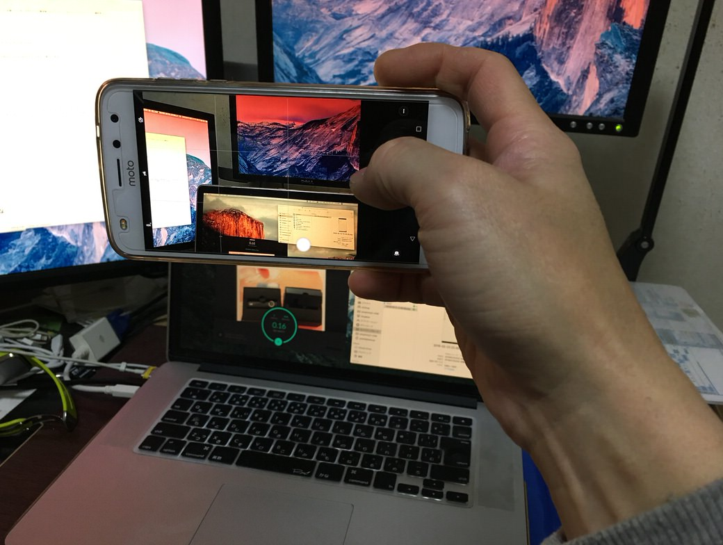 moto z2 playカメラ位置情報リマインダー