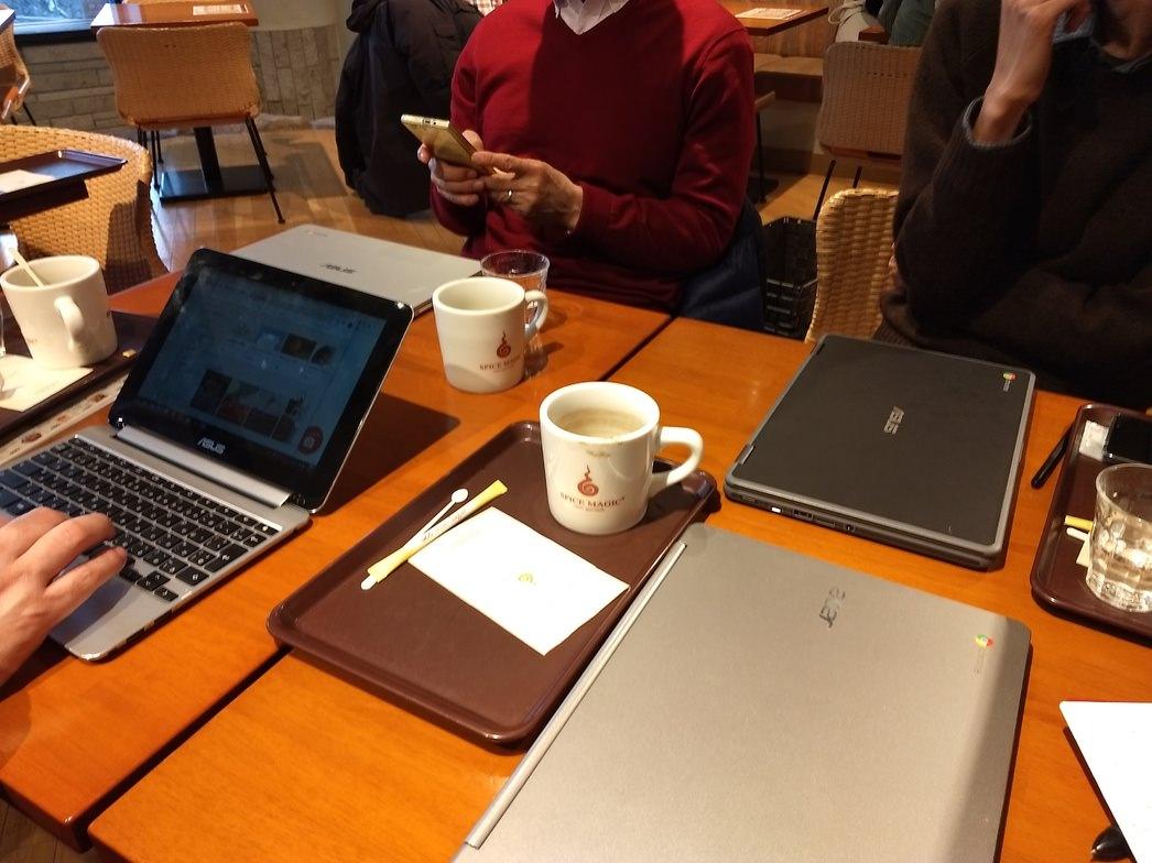 渋谷でChromebookオフ会参加