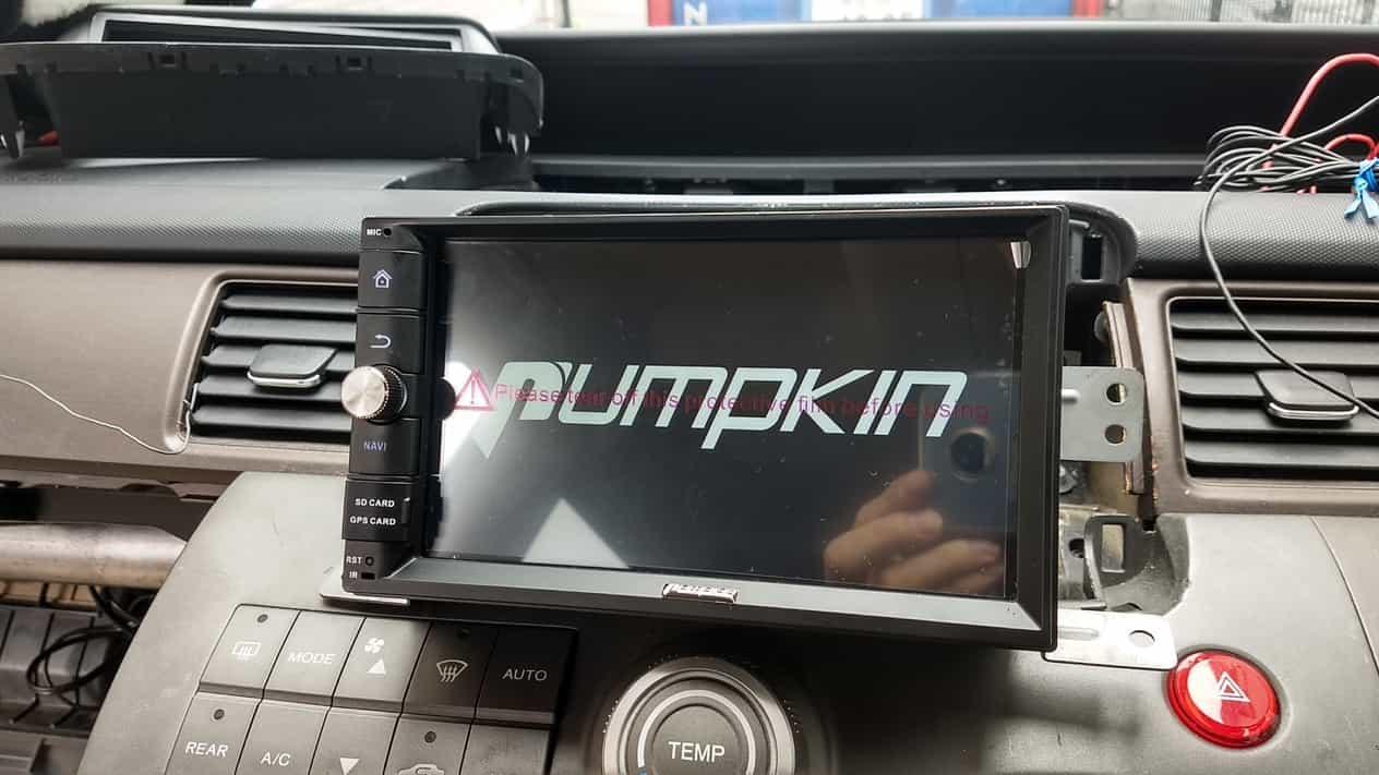 PUMPKINのAndroidカーナビ導入